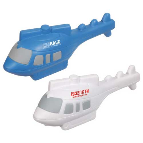 Promotional Helicopter Stress Ball