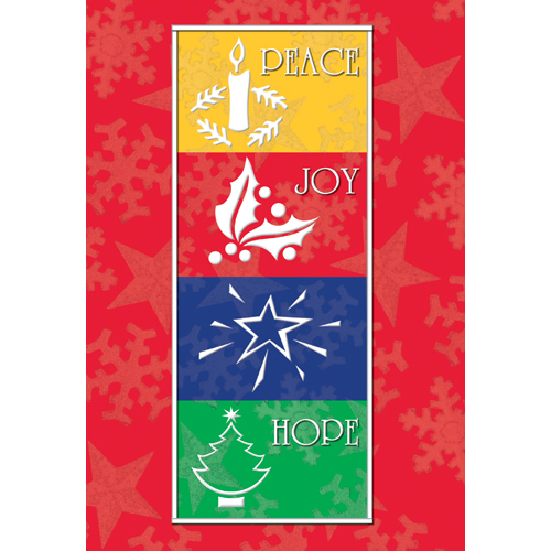 Promotional Holiday Wishes Greeting Card
