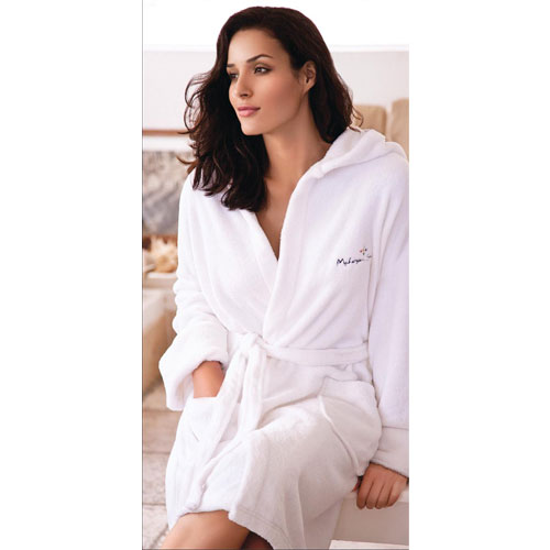 Promotional Hooded Coral Fleece Robe