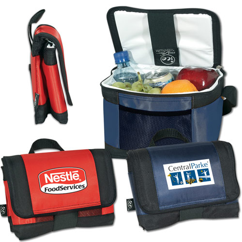 Promotional Ice 6-Can Cooler with Coolflex