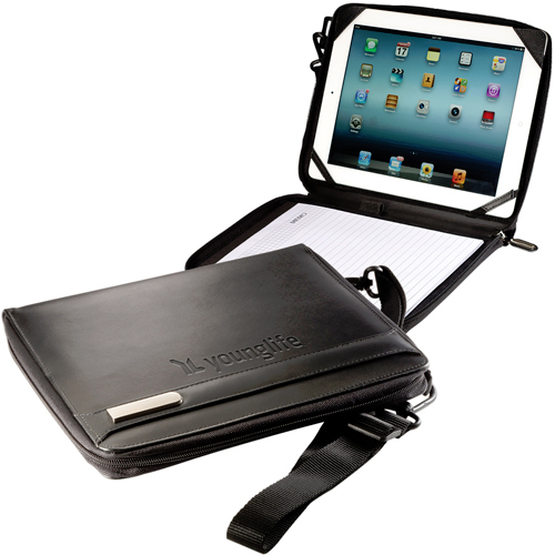 Promotional iPad®/Tablet Folio with Strap