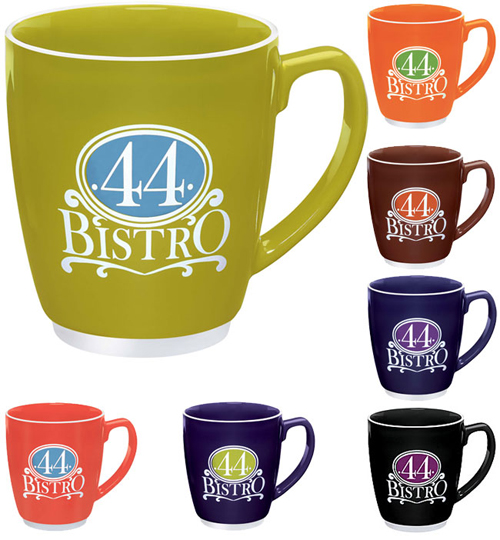 Promotional Large Color Bistro Mug