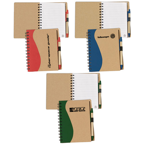 Promotional Maple - Eco-Aware Large Recycle Journal Combo