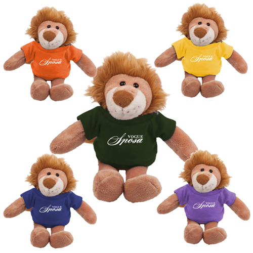 Promotional Lion Mascot Stuffed Animal