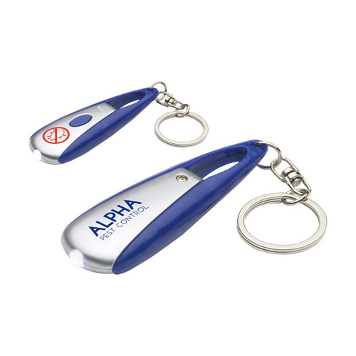 Promotional Long Press Led Key Chain