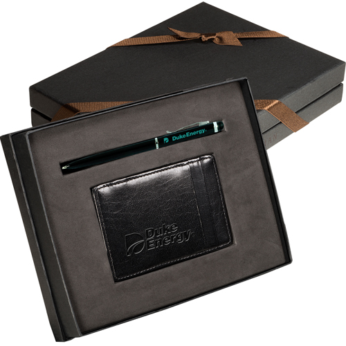 Promotional Magic Wallet & Stylus Pen Gift Set