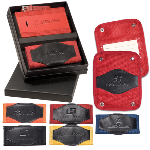 Promotional Majestic Luggage Tag/Spotter Combo Set
