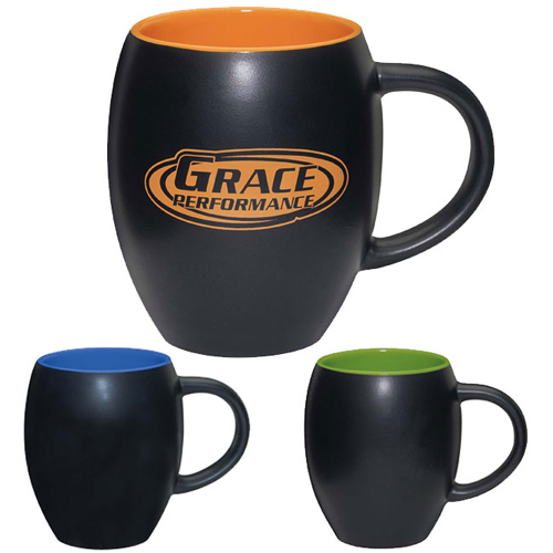 Promotional Matte Barrel Mug