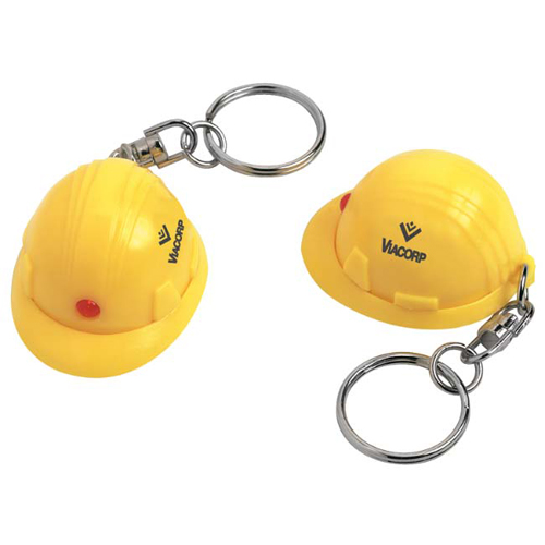 Promotional Mini Hard Hat Keychain