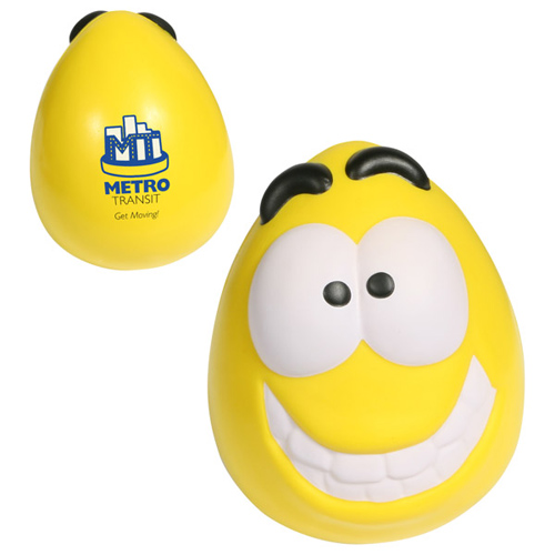 Promotional Mood Maniac Wobbler  - Happy Stress Ball