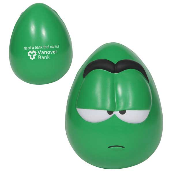 Promotional Mood Maniac Wobbler  -Apathetic Stress Ball