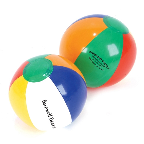 Promotional Multi Color Beach Ball - 12