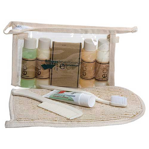 Promotional Natural Eco Spa Travel Set