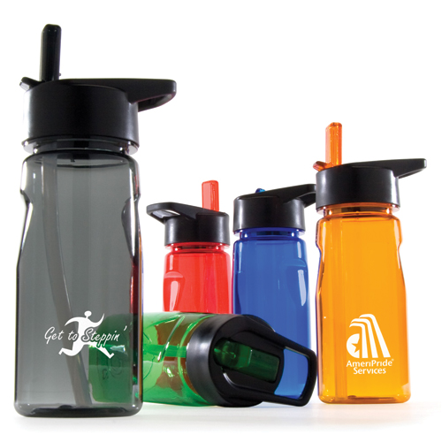 Promotional Notched Tritan® Water Bottle with Loop