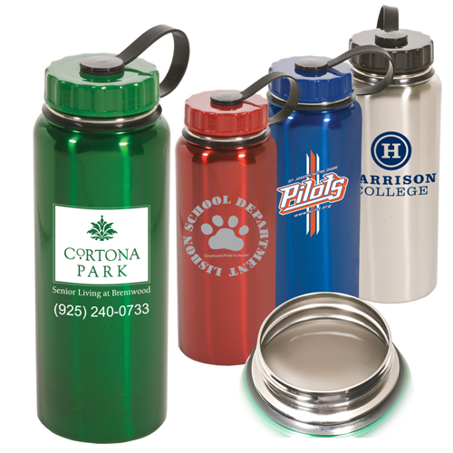 Promotional One Liter Stainless Bottle