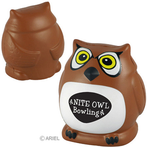 Promotional Owl Stress Ball