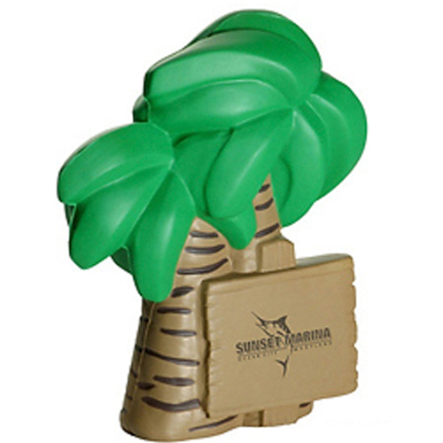 Promotional Palm Tree Stress Reliever