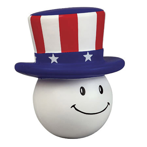 Promotional Patriotic Mad Cap Stress Ball