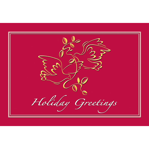 Promotional Peaceful Tidings Greeting Card