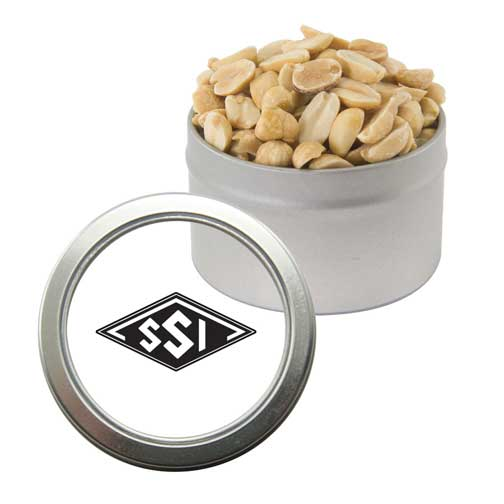 Promotional Peanuts Window Tin