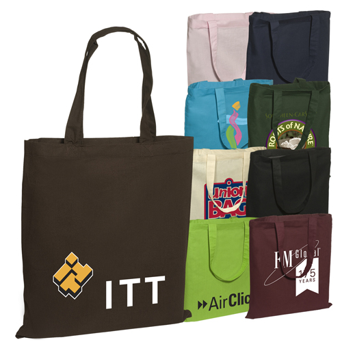 Promotional Pedestrian Tote - 6oz Cotton