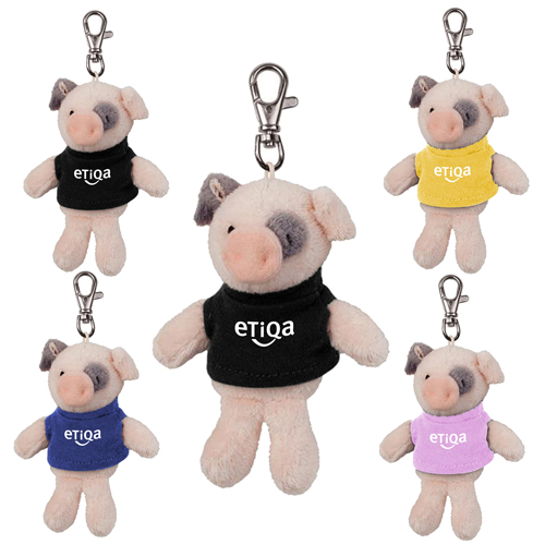 Promotional Pig Wild Bunch Key Tag