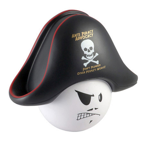 Promotional Pirate Mad Cap Stress Ball