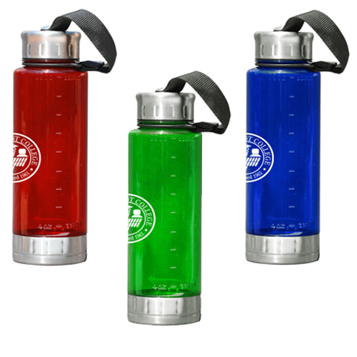 Promotional Plastic & Stainless Steel Bottle