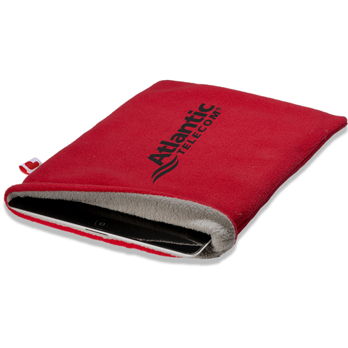 Promotional Polyester Fleece Tablet Sleeve - 220GSM