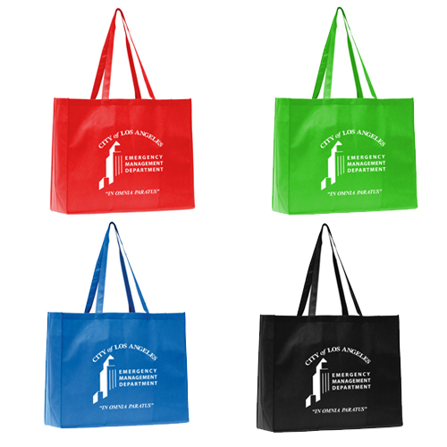 Promotional Polytex Large Grocery Tote