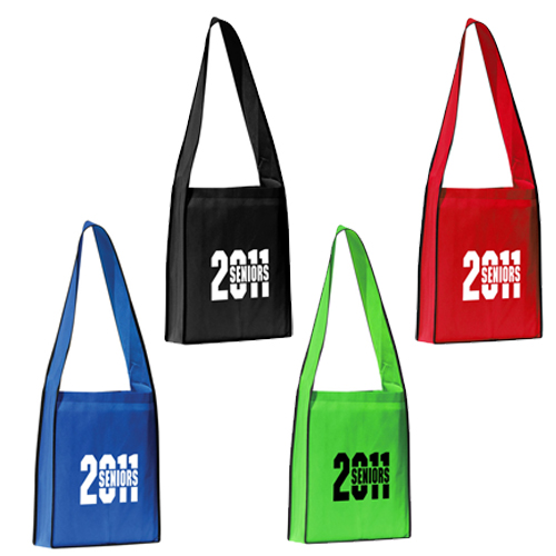 Promotional Polytex Wide Shoulder Strap Tote