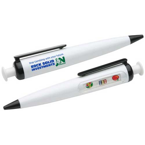 Promotional Press Your Luck Pen
