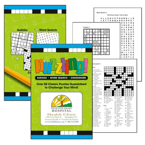Promotional Puzzling Crosswords and Sudokus