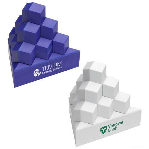 Promotional Pyramid Stack Puzzle Stress Ball
