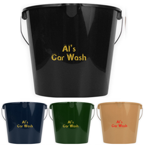 Promotional Recycled Car Wash Bucket - 7 Quart