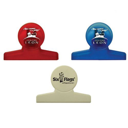 Promotional Round Chip Clip