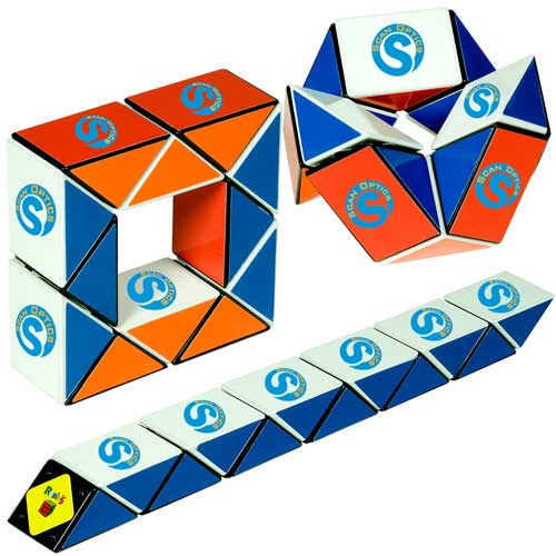 Promotional Rubik's Mini Twist-A-Snake