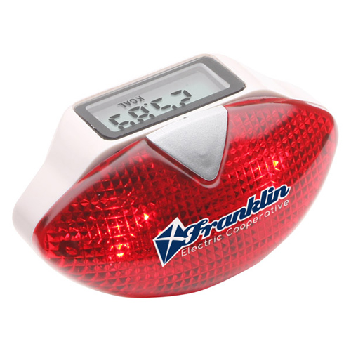 Promotional Safety Flash Pedometer