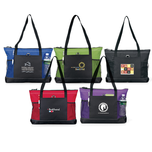 Promotional Select Zippered Promotional Tote
