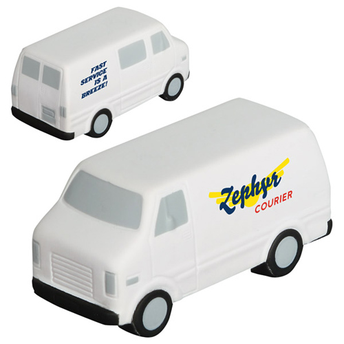 Promotional Service Van Stress Ball