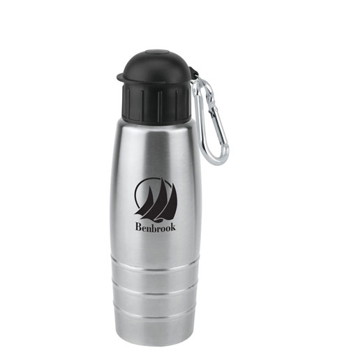 Promotional Single Wall Stainless Sports Bottle 24 oz
