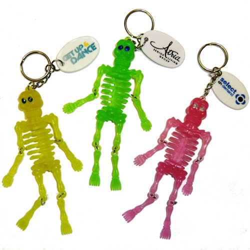 Promotional Skeleton Key Chain