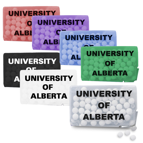 Promotional Slim Mints Rectangular Design