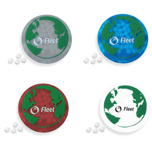 Promotional Slim Mints Round Design