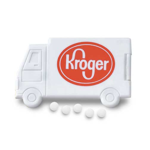 Promotional Slim Mints Truck Design