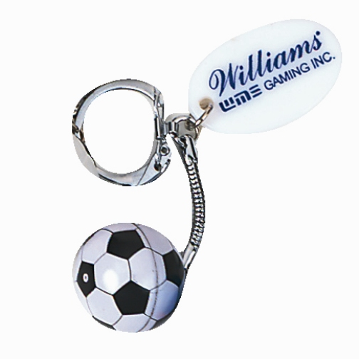 Promotional Soccer Ball Key Chain