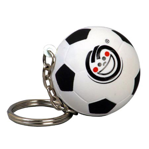 Promotional Soccer Ball Key Chain Stress Ball