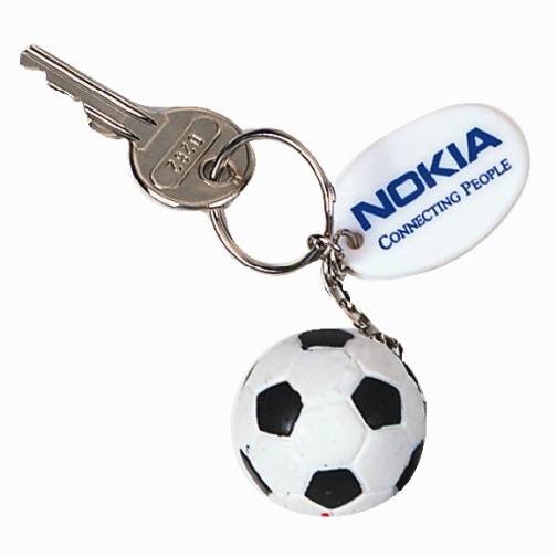 Promotional Mini Soccer Ball Keychain