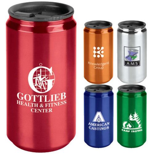 Promotional Soda Can Travel Tumbler - 14oz