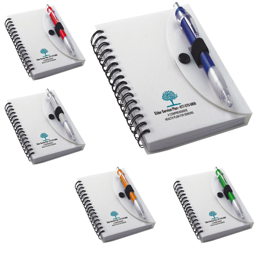 Promotional Spiral Notepad with Pen